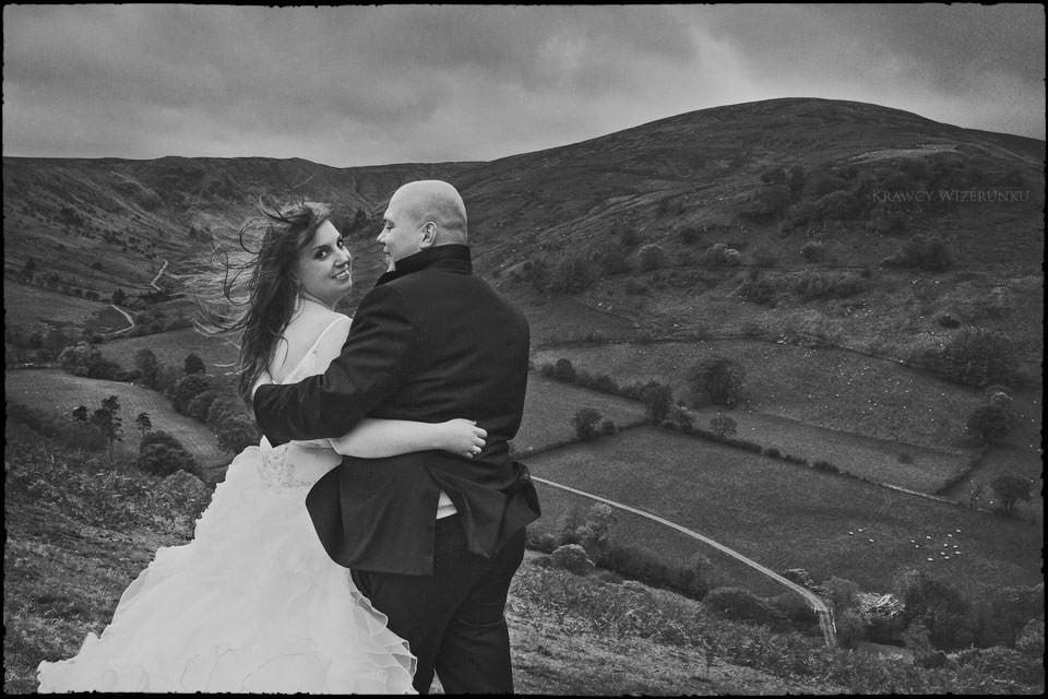 Monika i Kamil | plener ślubny za granicą | sesja w Północnej Walii 22