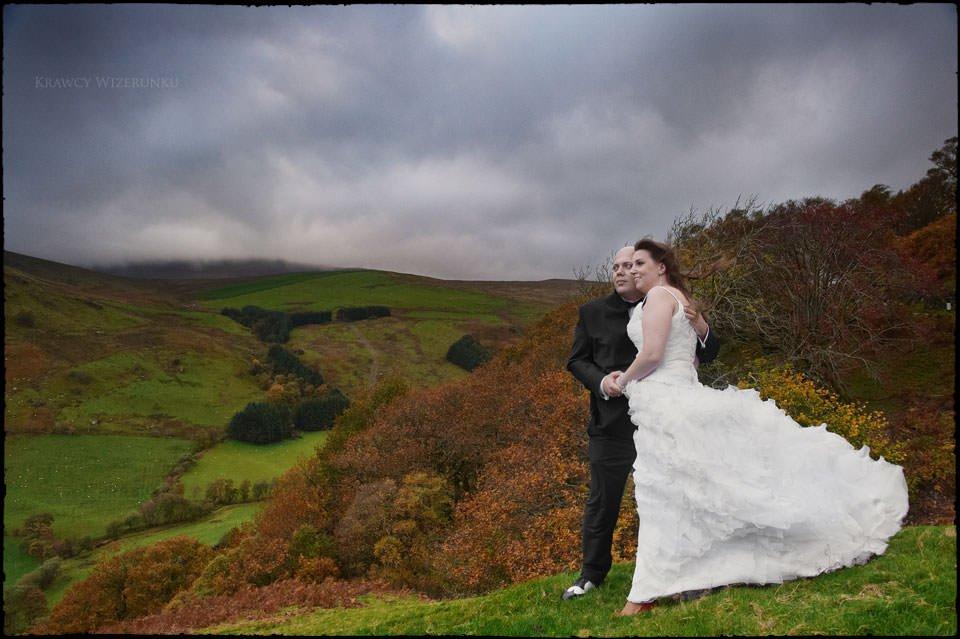 Monika i Kamil | plener ślubny za granicą | sesja w Północnej Walii 23
