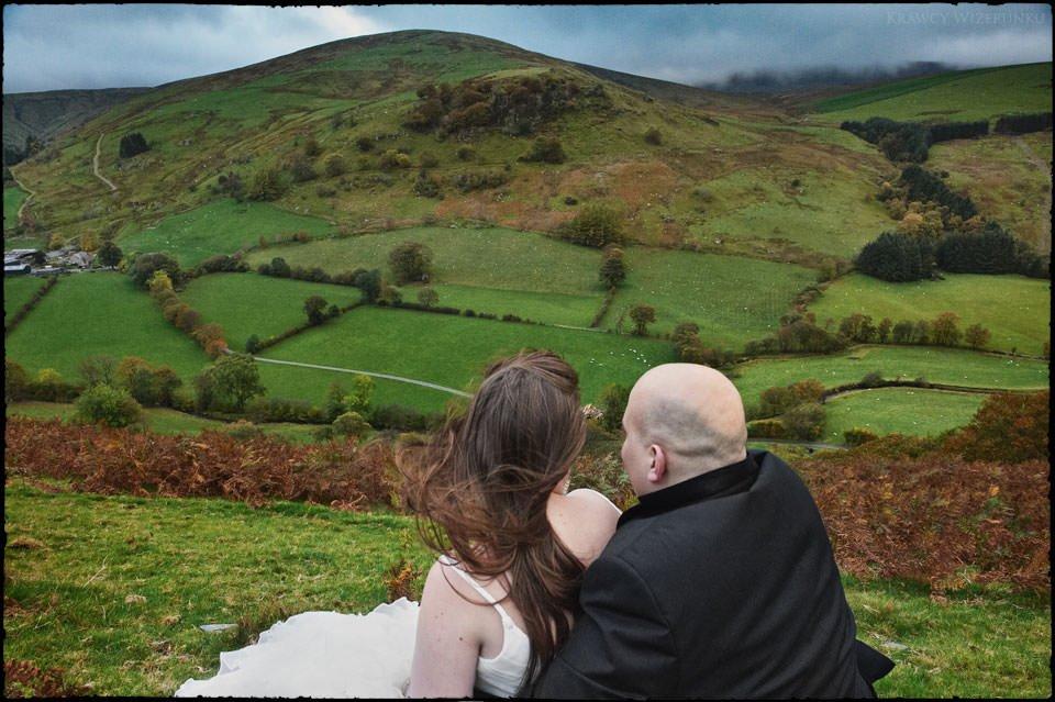 Monika i Kamil | plener ślubny za granicą | sesja w Północnej Walii 25