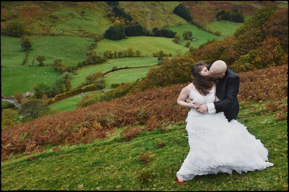 Monika i Kamil | plener ślubny za granicą | sesja w Północnej Walii 24