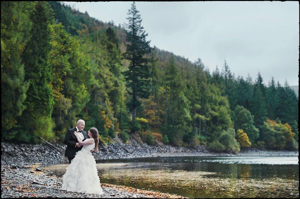 Monika i Kamil | plener ślubny za granicą | sesja w Północnej Walii 26