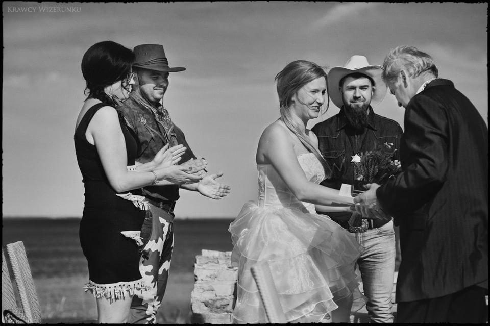 Iza i Mikołaj | Ślub w westernowym wydaniu 13