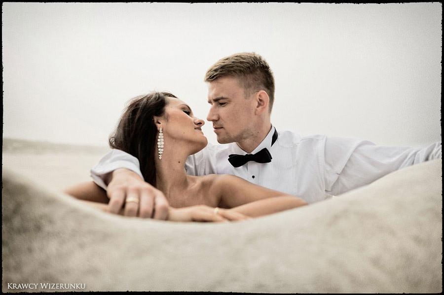 Magda i Rafał | sesja we mgle | plener w stadninie 23