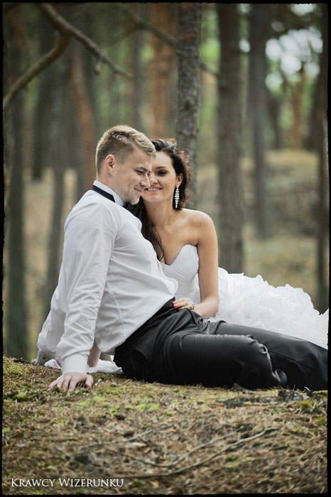 Magda i Rafał | sesja we mgle | plener w stadninie 36