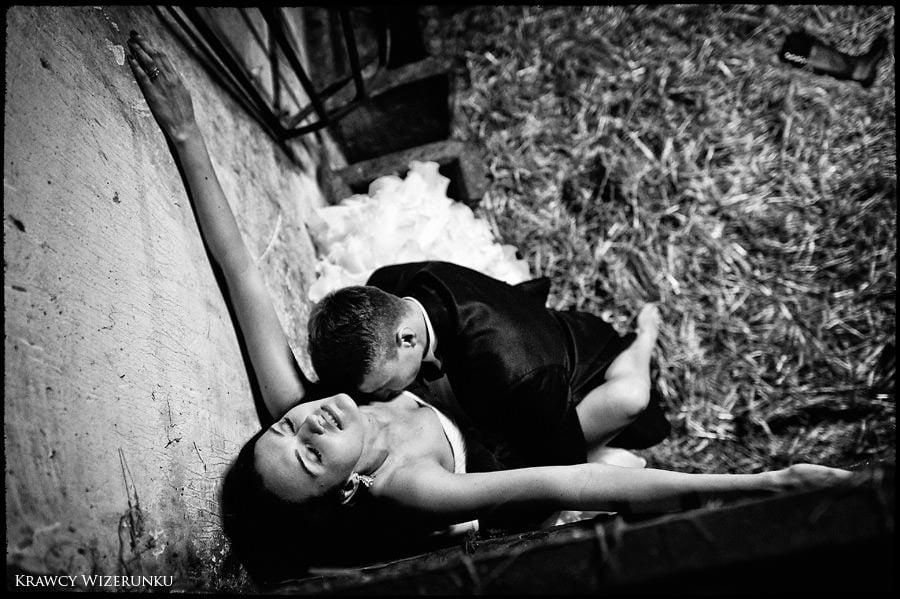 Magda i Rafał | sesja we mgle | plener w stadninie 39