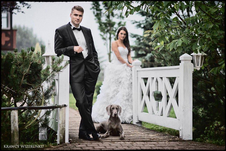 Magda i Rafał | sesja we mgle | plener w stadninie 50
