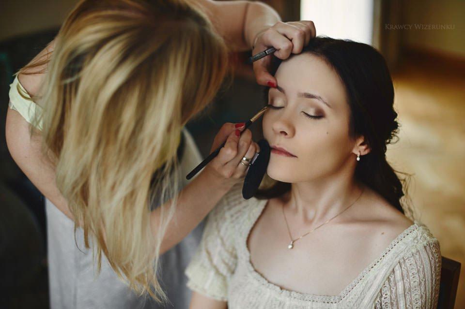 makijaż ślubny w grand hotelu