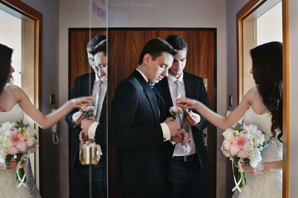 Magiczna sesja ślubna we mgle 13