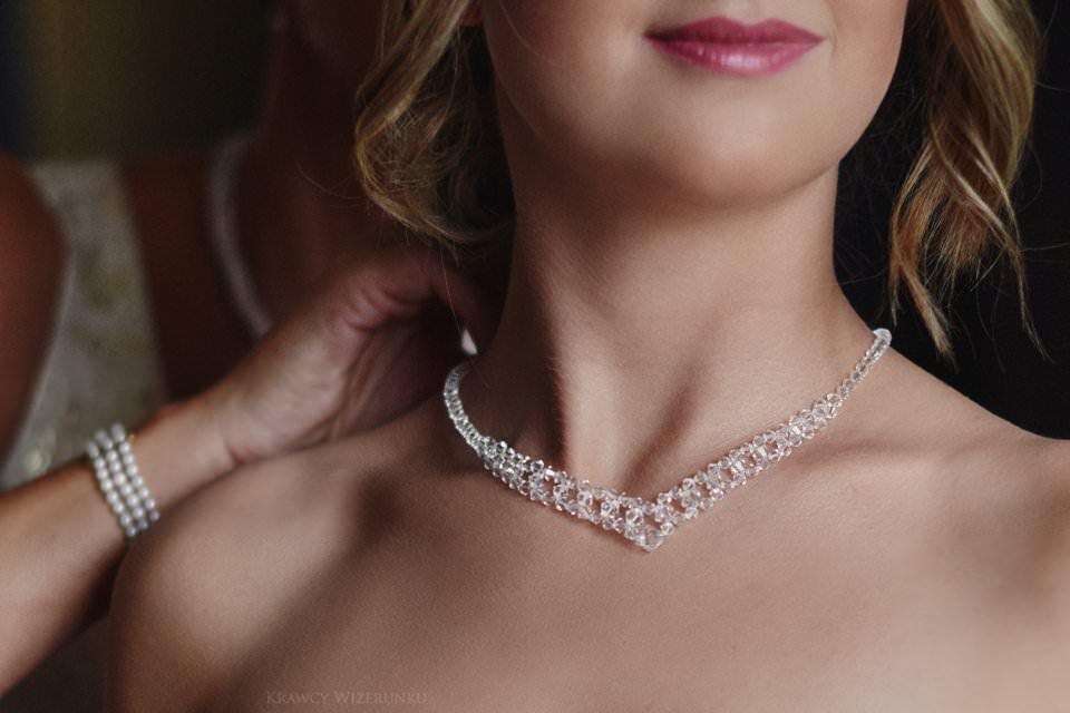 biżuteria ślubna na zamku w gniewie