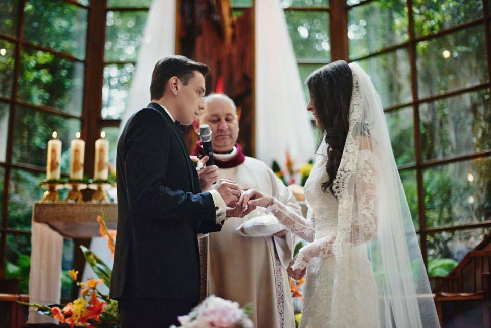Magiczna sesja ślubna we mgle 20