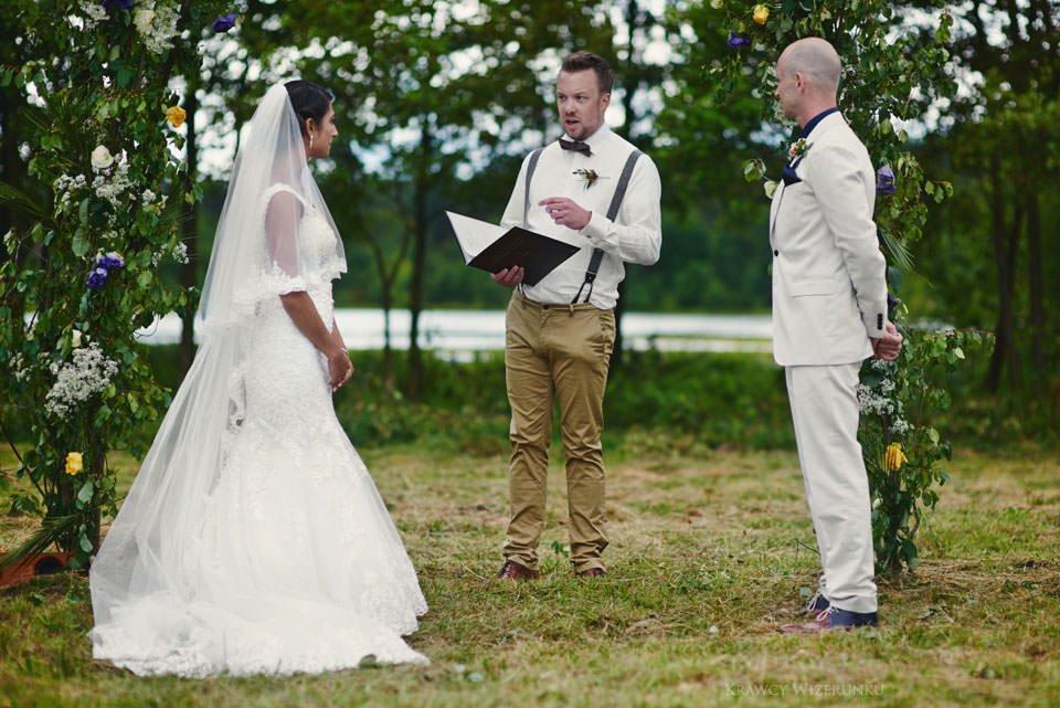 Humanistyczny ślub plenerowy 45