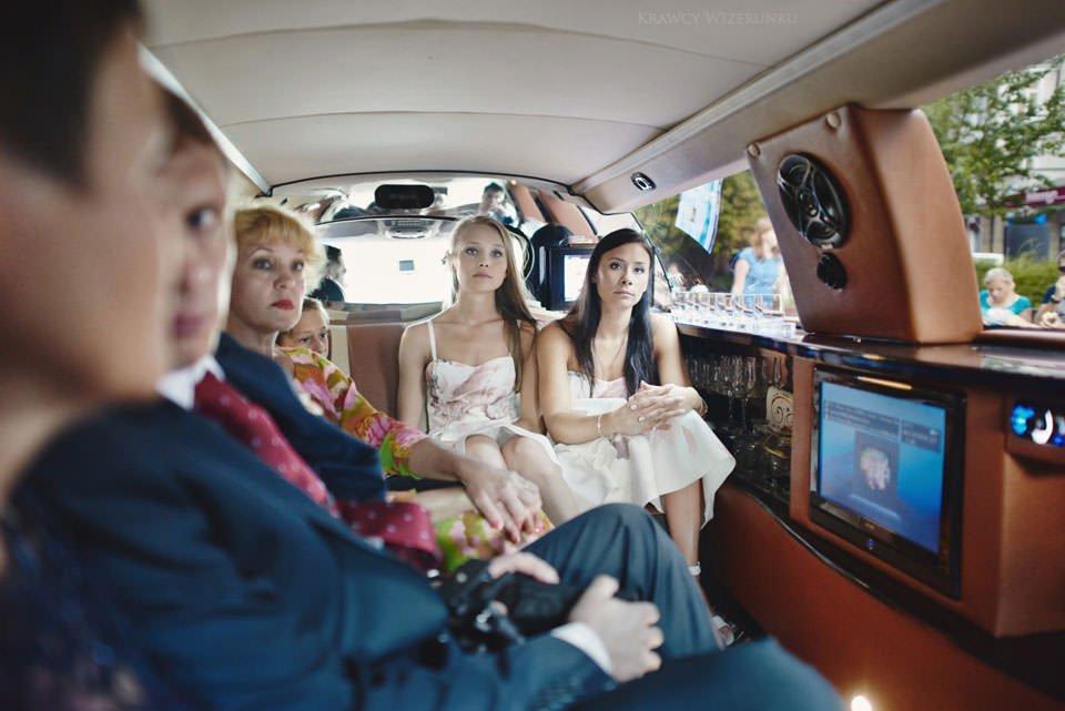sesja w limuzynie