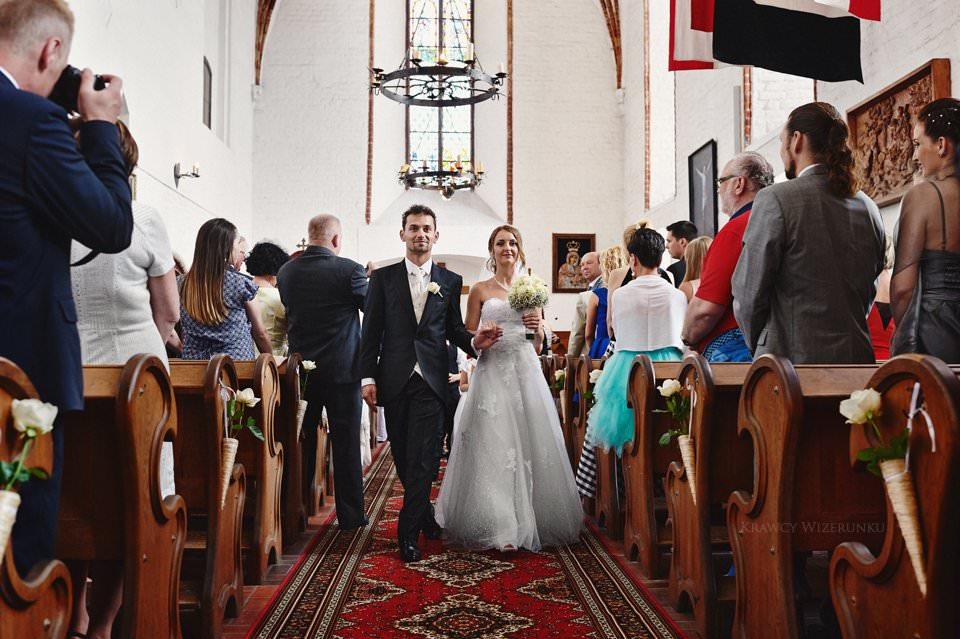 zdjęcia ślubne zamek gniew