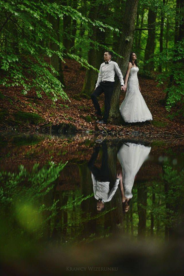 Magiczna sesja ślubna we mgle 103