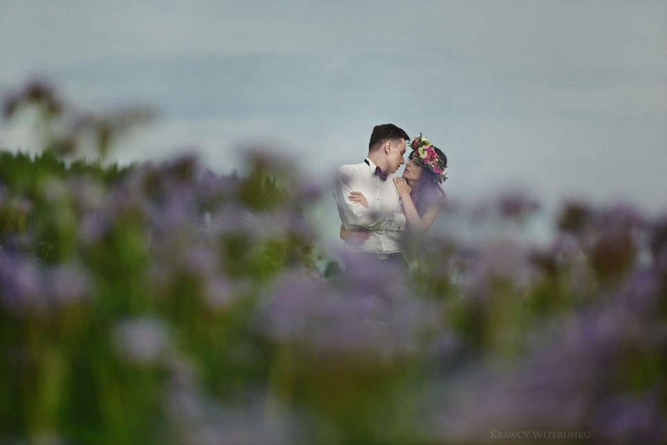 Magiczna sesja ślubna we mgle 104