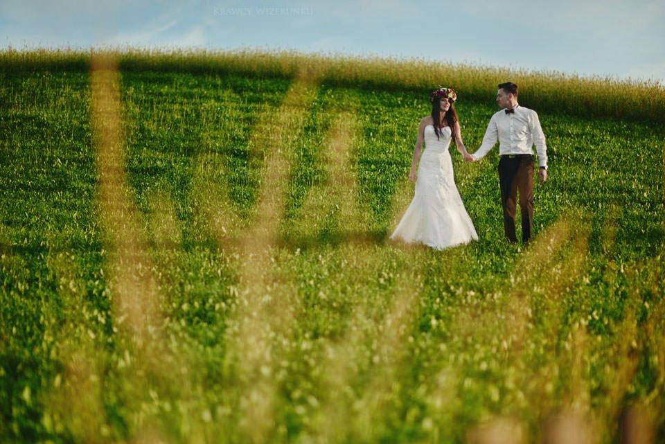 Magiczna sesja ślubna we mgle 109