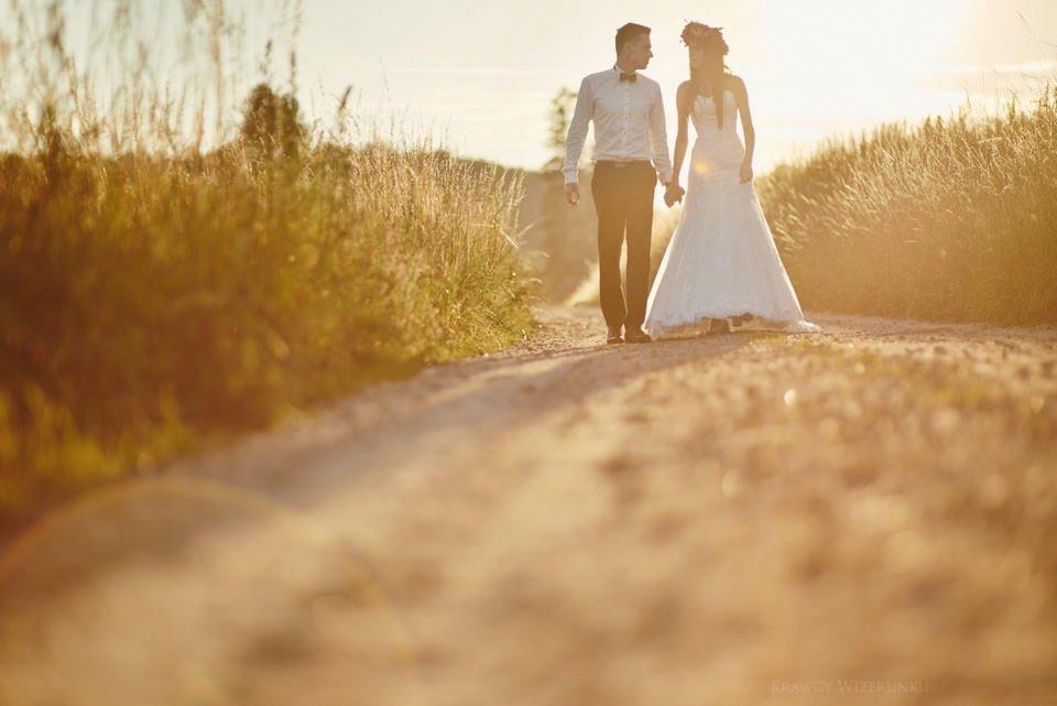 Magiczna sesja ślubna we mgle 114
