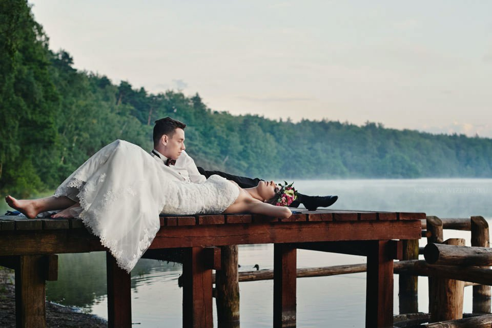 Magiczna sesja ślubna we mgle 124