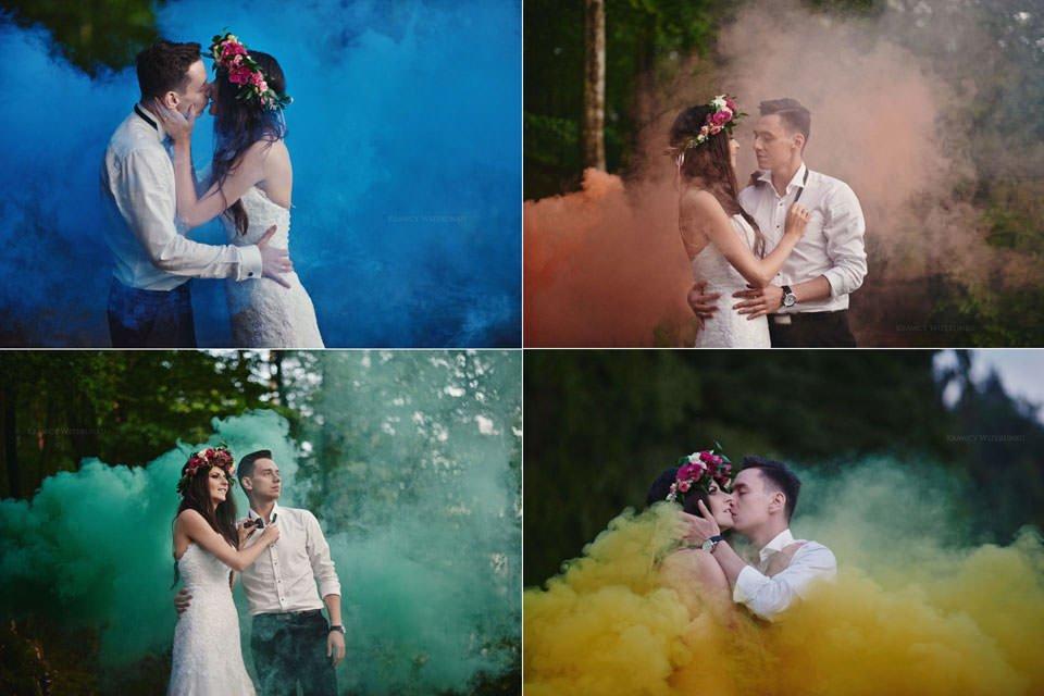Magiczna sesja ślubna we mgle 126