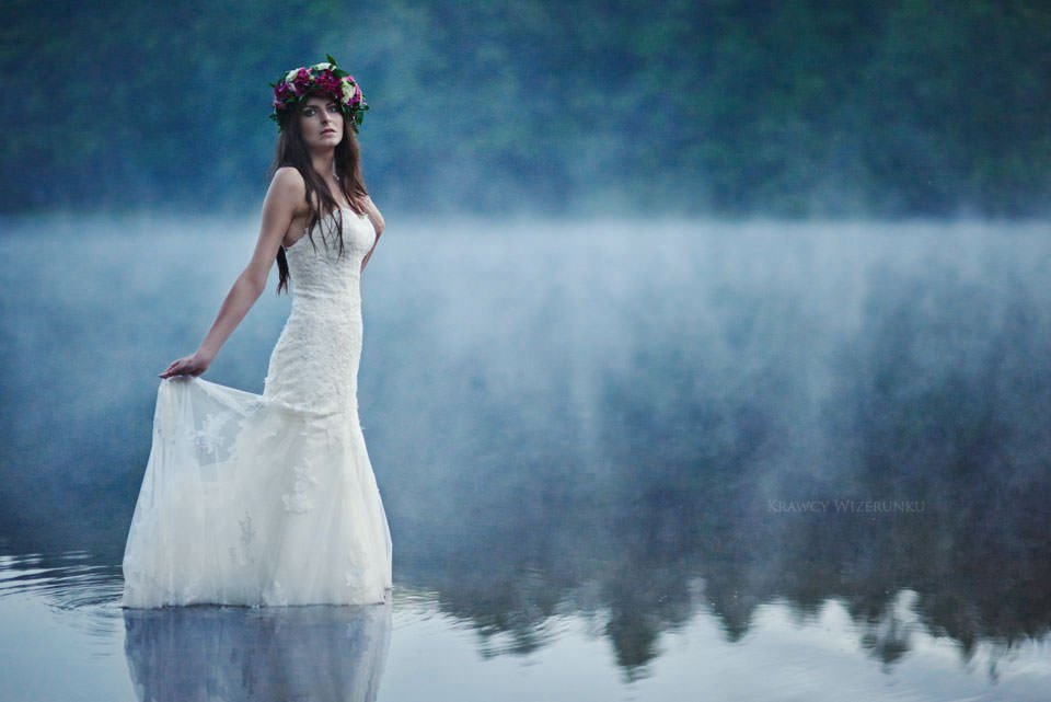 Magiczna sesja ślubna we mgle 133