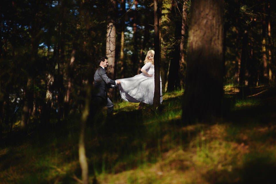 Anna i Grzegorz | Zdjęcia ślubne Gdynia | Sesja w nadmorskim lesie 47