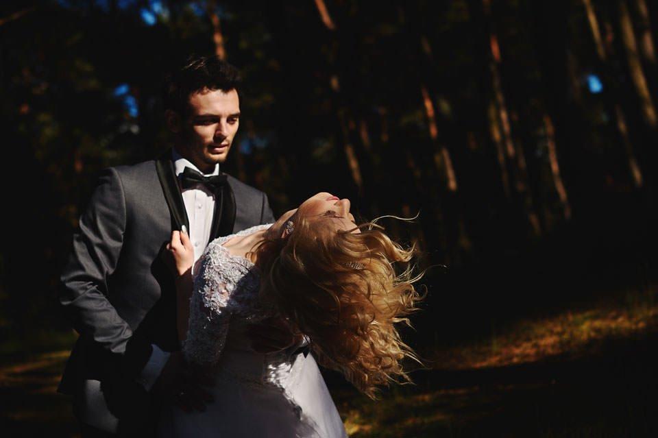 Anna i Grzegorz | Zdjęcia ślubne Gdynia | Sesja w nadmorskim lesie 49