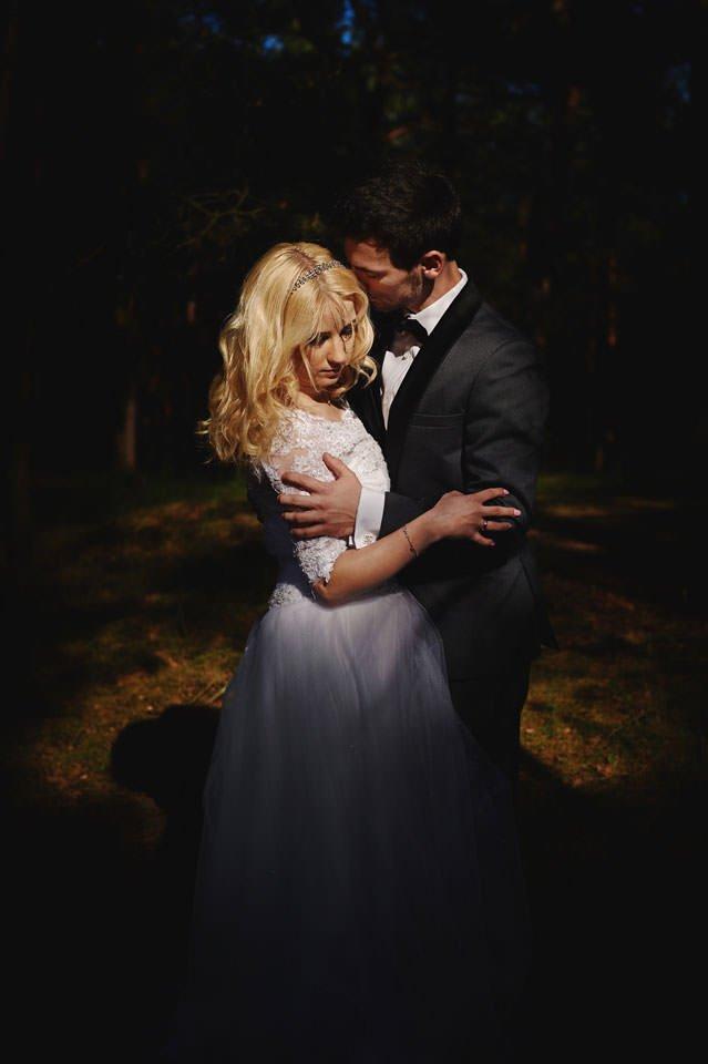 Anna i Grzegorz | Zdjęcia ślubne Gdynia | Sesja w nadmorskim lesie 50