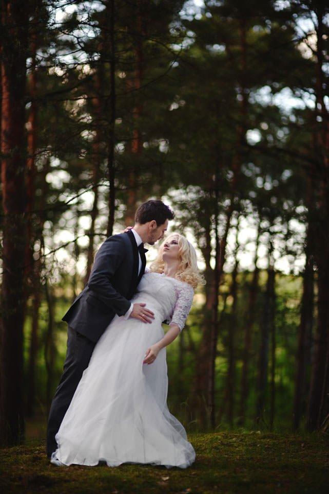 Anna i Grzegorz | Zdjęcia ślubne Gdynia | Sesja w nadmorskim lesie 51