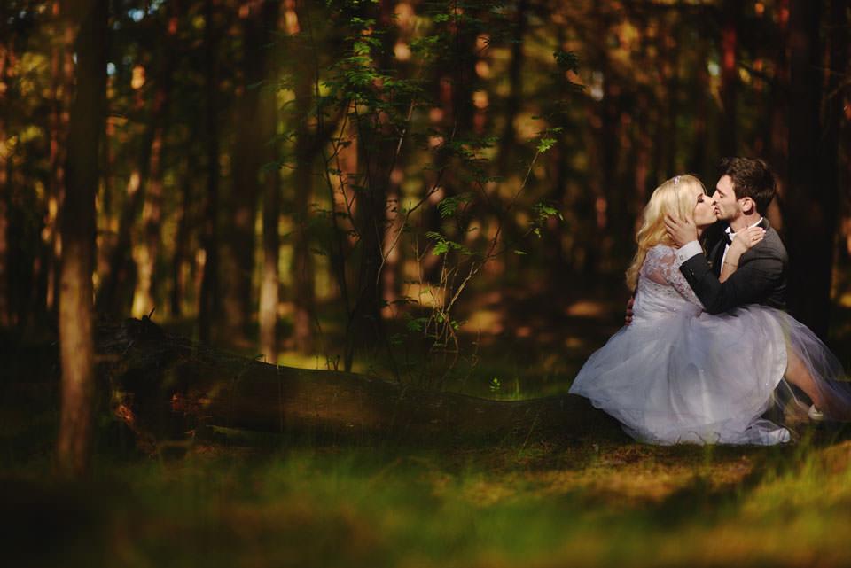 Anna i Grzegorz | Zdjęcia ślubne Gdynia | Sesja w nadmorskim lesie 53