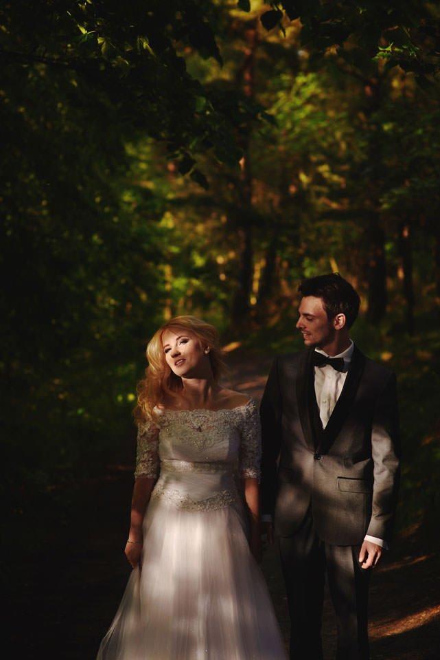 Anna i Grzegorz | Zdjęcia ślubne Gdynia | Sesja w nadmorskim lesie 59