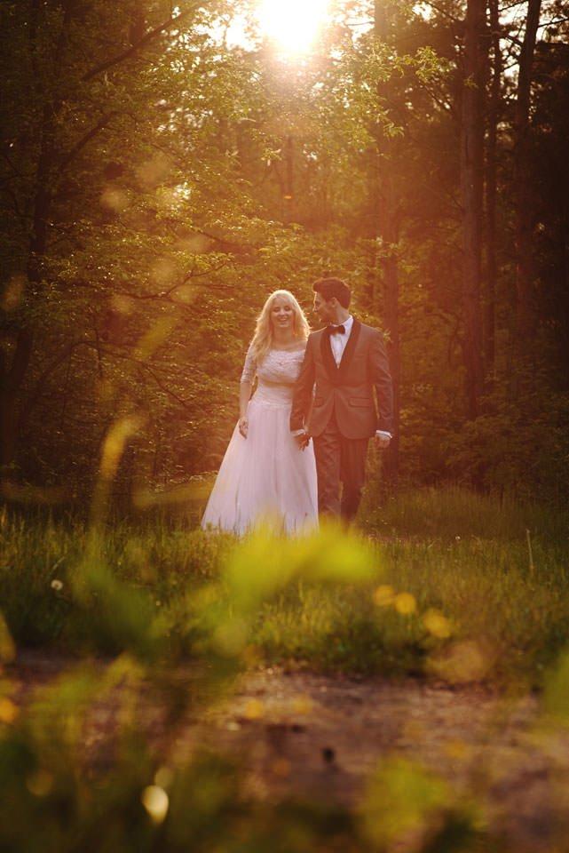 Anna i Grzegorz | Zdjęcia ślubne Gdynia | Sesja w nadmorskim lesie 60