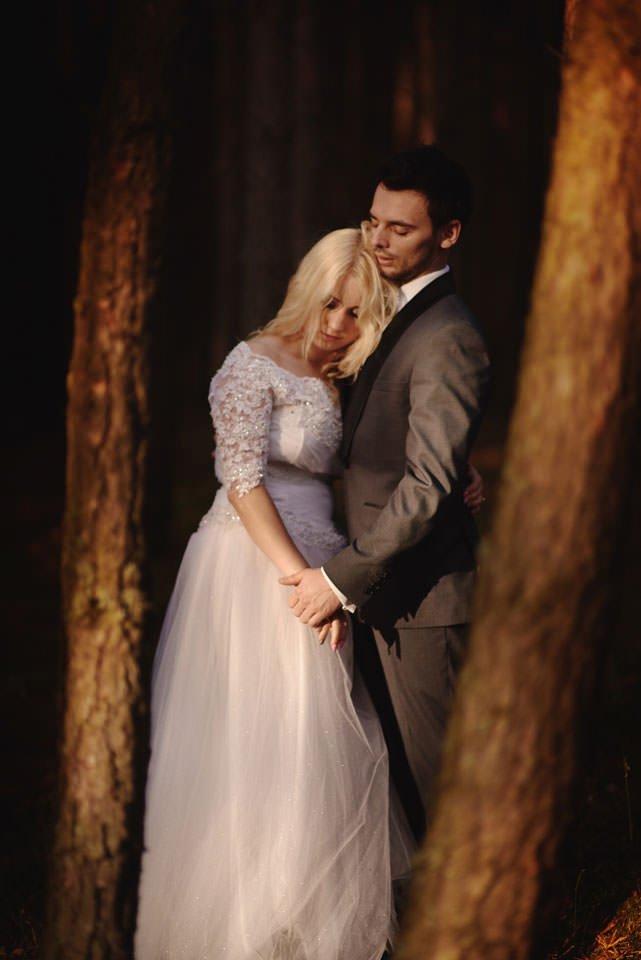 Anna i Grzegorz | Zdjęcia ślubne Gdynia | Sesja w nadmorskim lesie 61