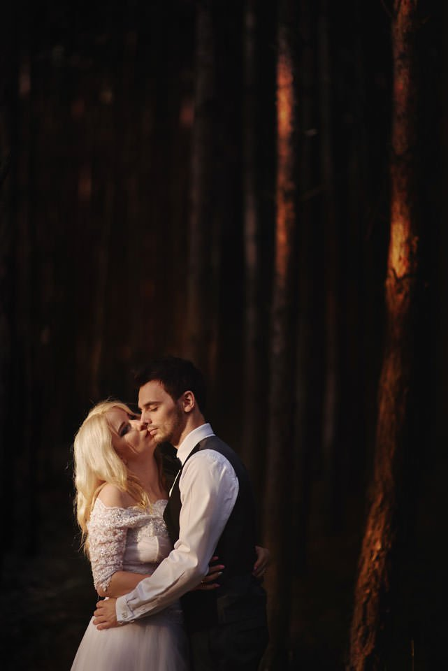 Anna i Grzegorz | Zdjęcia ślubne Gdynia | Sesja w nadmorskim lesie 62