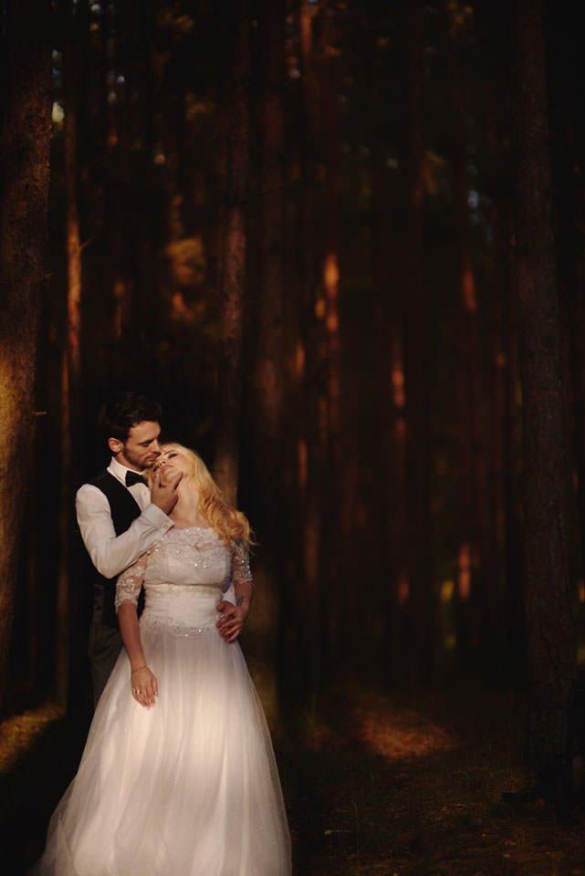 Anna i Grzegorz | Zdjęcia ślubne Gdynia | Sesja w nadmorskim lesie 63
