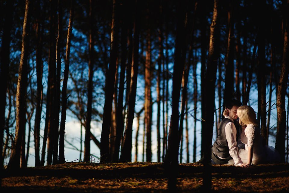 Anna i Grzegorz | Zdjęcia ślubne Gdynia | Sesja w nadmorskim lesie 65