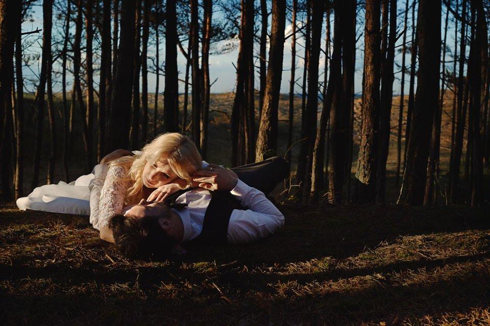 Anna i Grzegorz | Zdjęcia ślubne Gdynia | Sesja w nadmorskim lesie 66