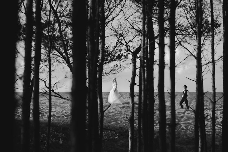 Anna i Grzegorz | Zdjęcia ślubne Gdynia | Sesja w nadmorskim lesie 67