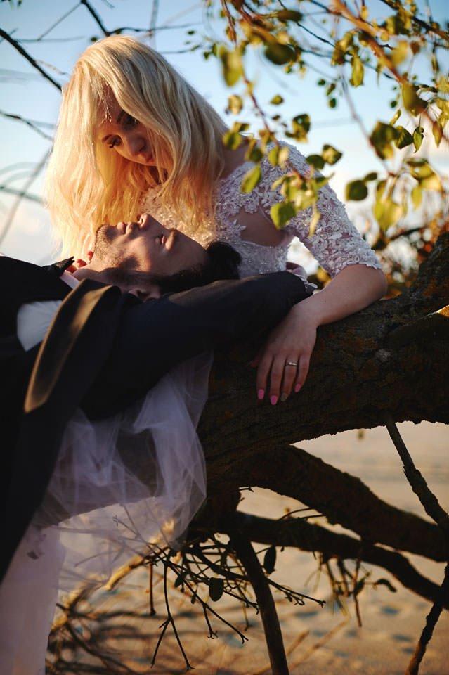Anna i Grzegorz | Zdjęcia ślubne Gdynia | Sesja w nadmorskim lesie 71