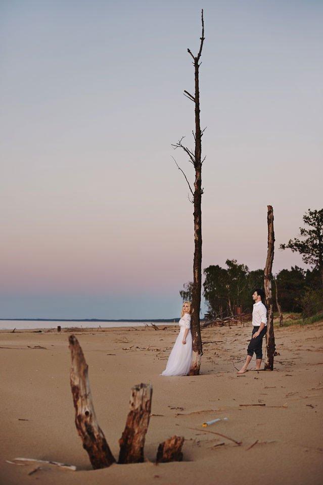 Anna i Grzegorz | Zdjęcia ślubne Gdynia | Sesja w nadmorskim lesie 81