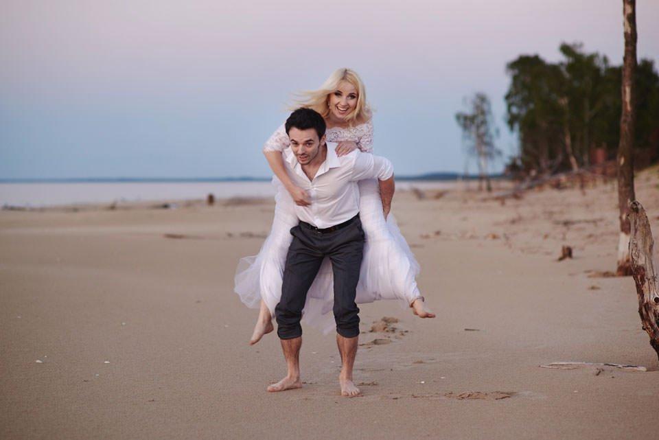 Anna i Grzegorz | Zdjęcia ślubne Gdynia | Sesja w nadmorskim lesie 83