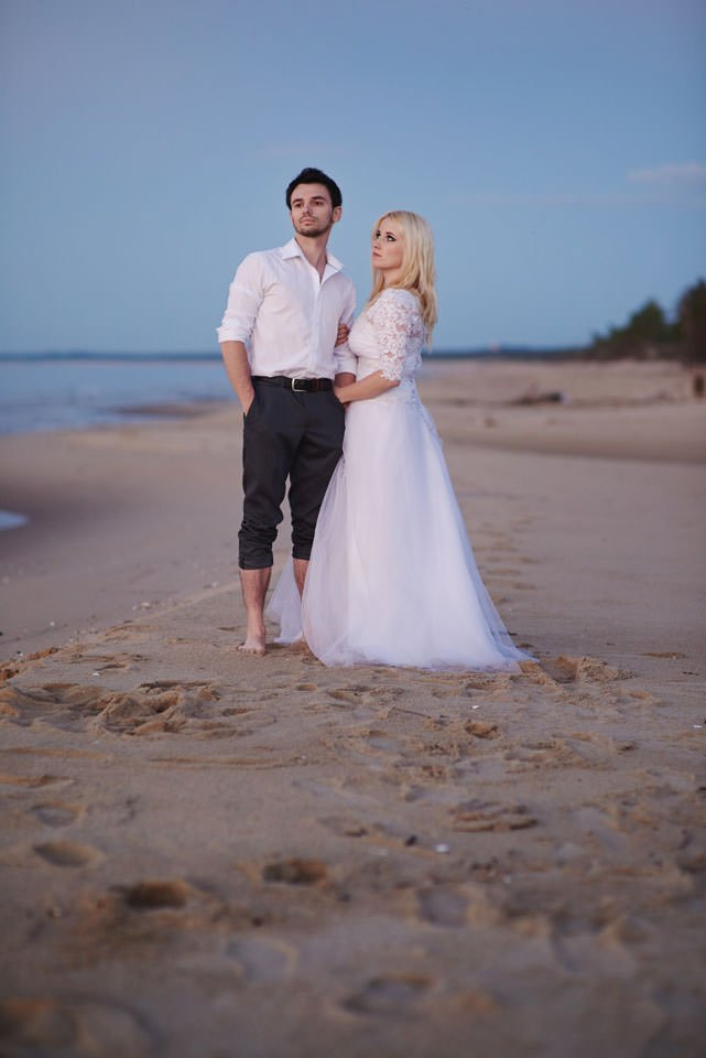 Anna i Grzegorz | Zdjęcia ślubne Gdynia | Sesja w nadmorskim lesie 86