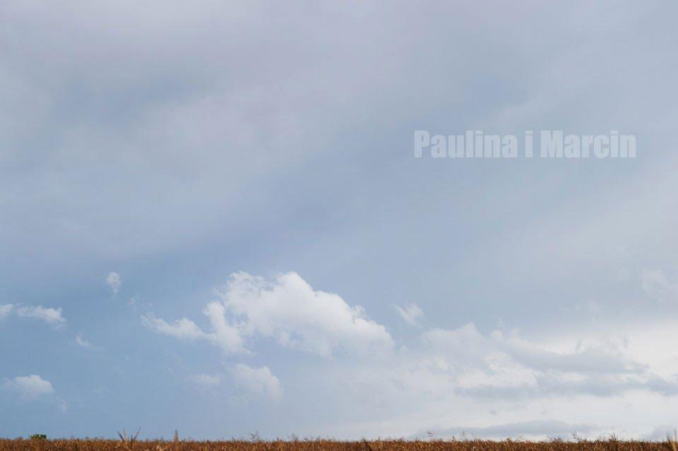 Paulina i Marcin | Dwa burzowe dni | Sesja w parku i na nadmorskim brzegu. 1