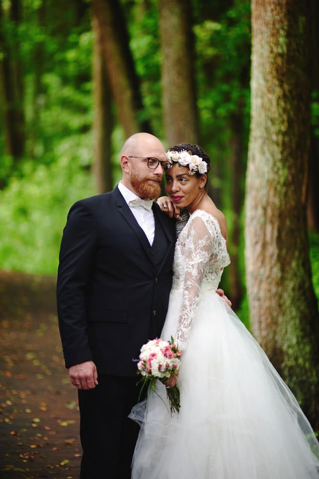 Paulina i Marcin | Dwa burzowe dni | Sesja w parku i na nadmorskim brzegu. 57