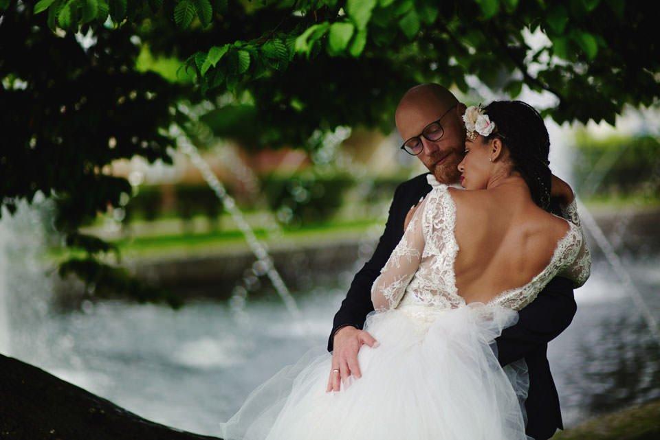 Paulina i Marcin | Dwa burzowe dni | Sesja w parku i na nadmorskim brzegu. 63