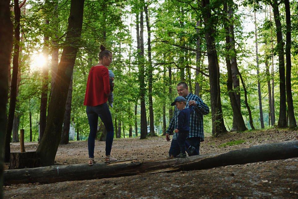 Sesja rodzinna na łonie natury 14