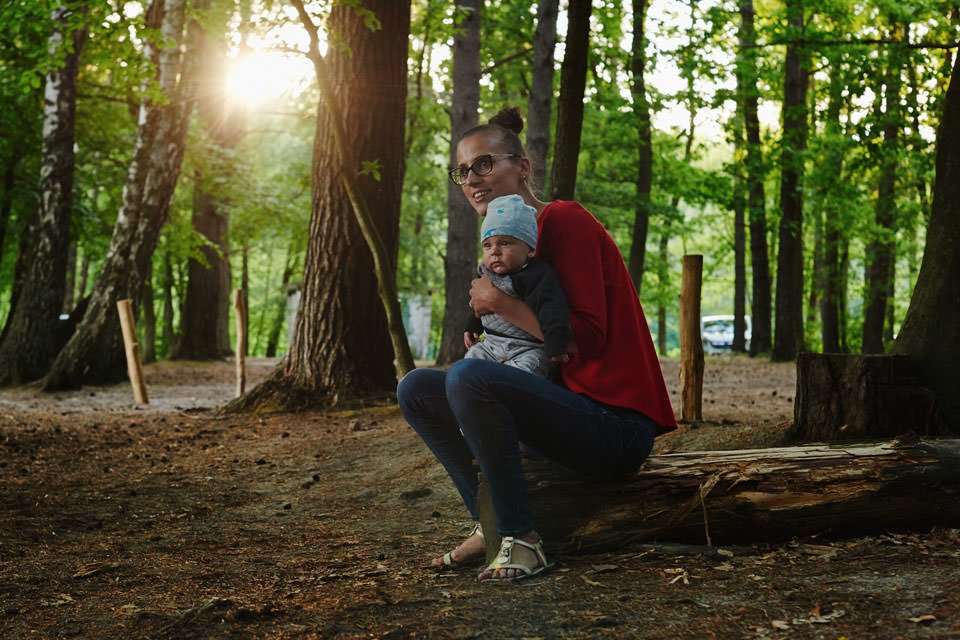 Sesja rodzinna na łonie natury 15