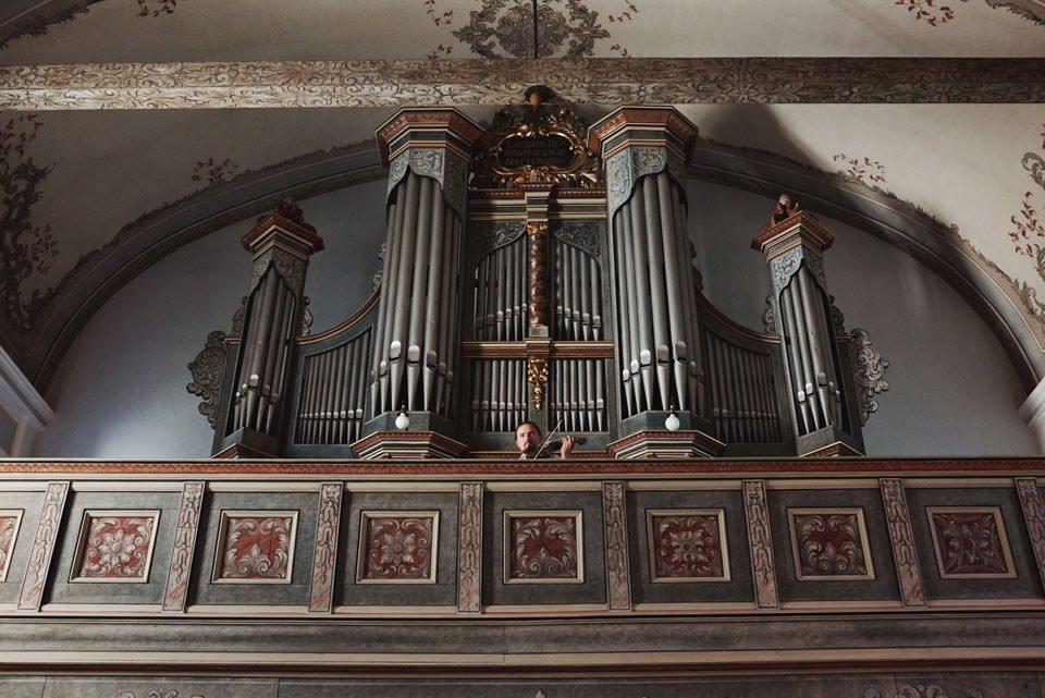 kościół w górze