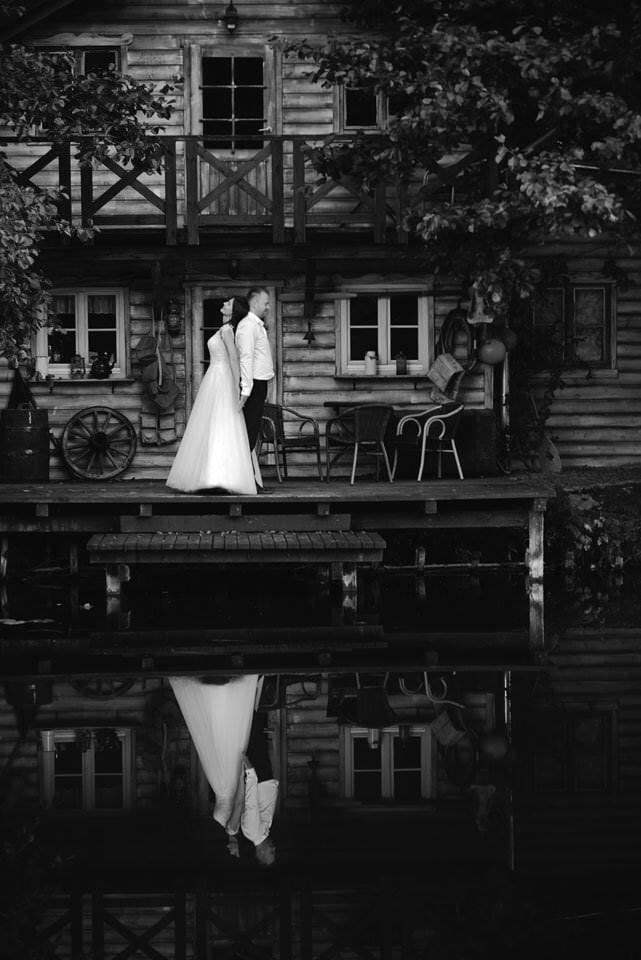 sesja ślubna Bory Tucholskie