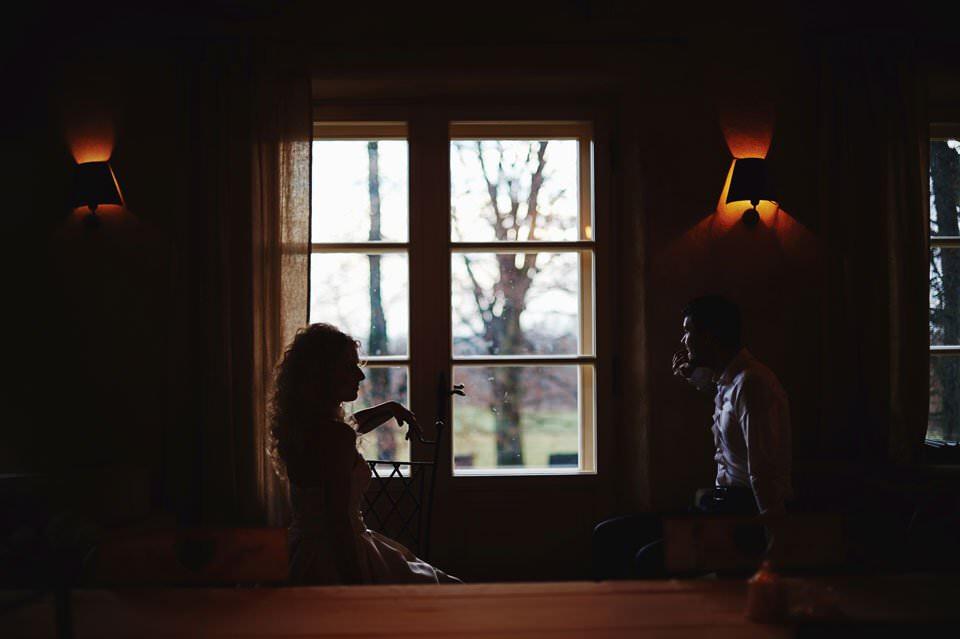 zmysłowa sesja ślubna