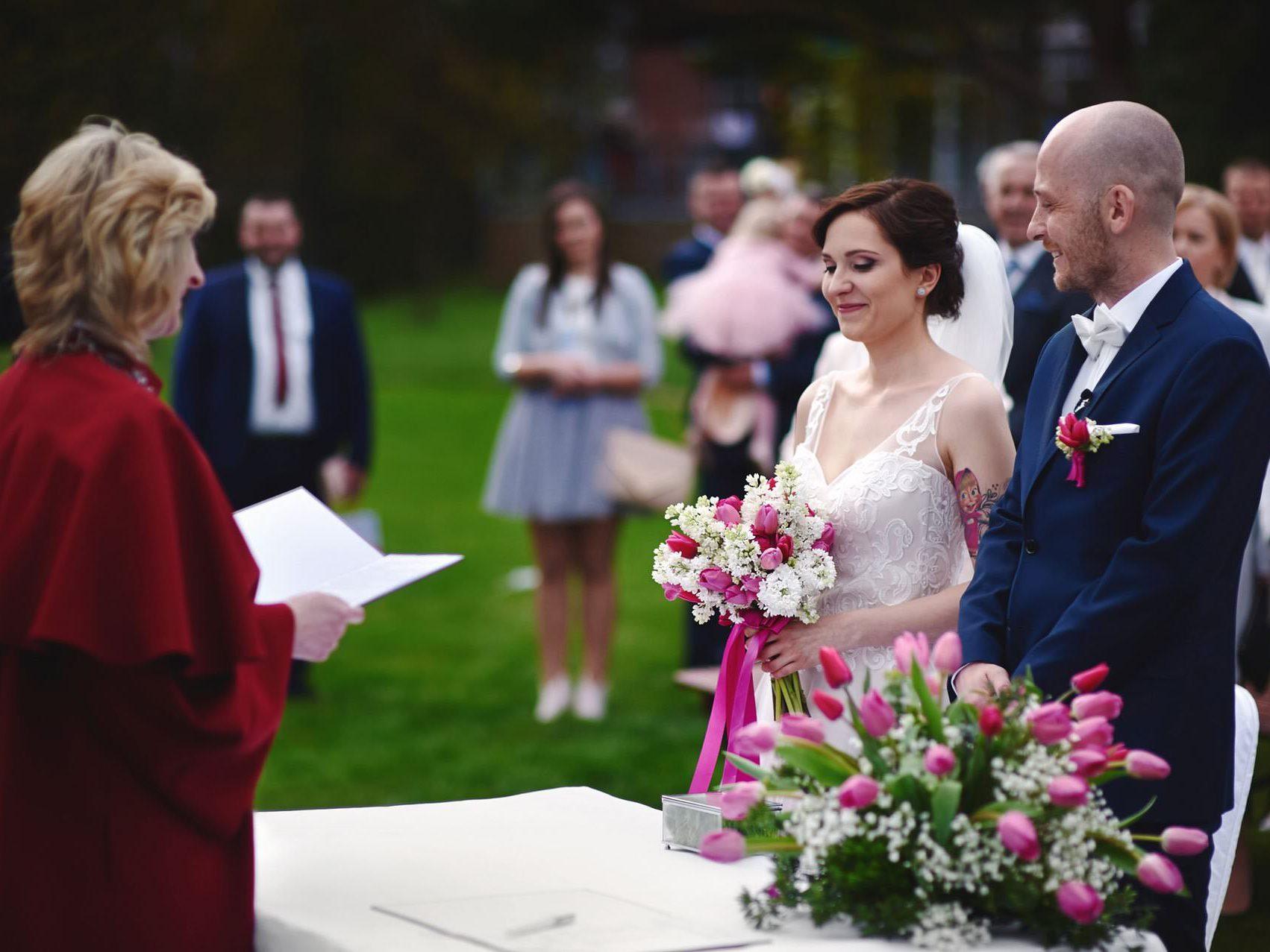 Ślub plenerowy w Kozim Grodzie 4